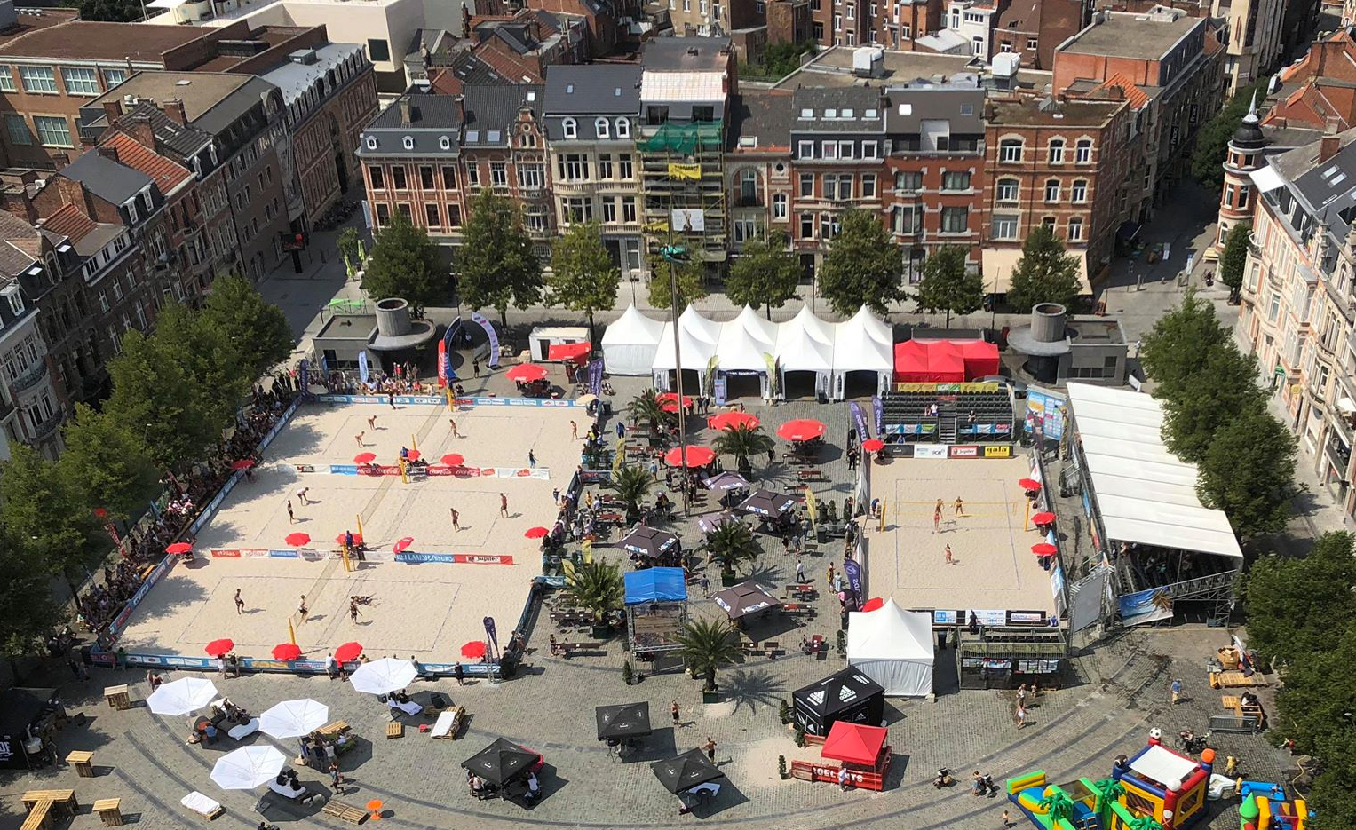 Leuven Beachvolley - Ladeuzeplein