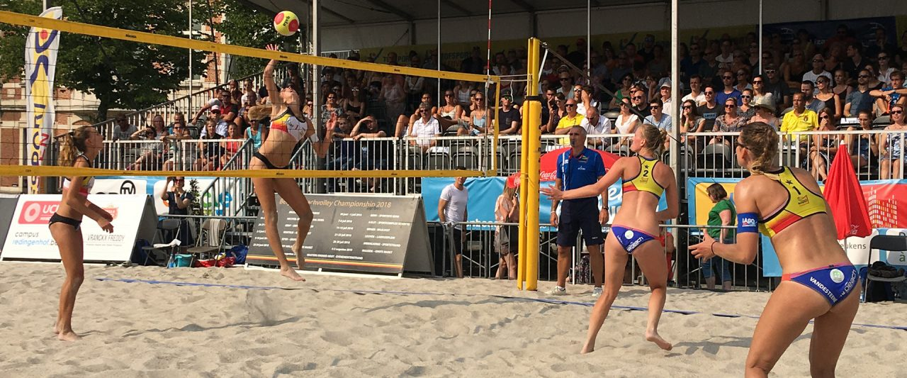 Finale Belgian Beach Tour vrouwen 2018