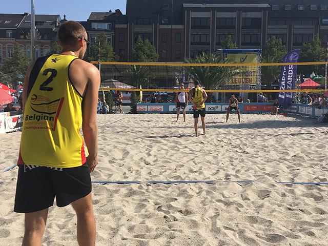 Belgian Beach Tour Leuven Beachvolley 2018