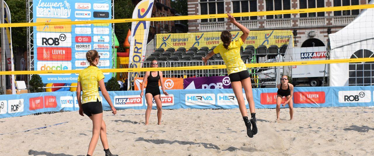 Jeugdtoernooi Leuven Beachvolley 2018