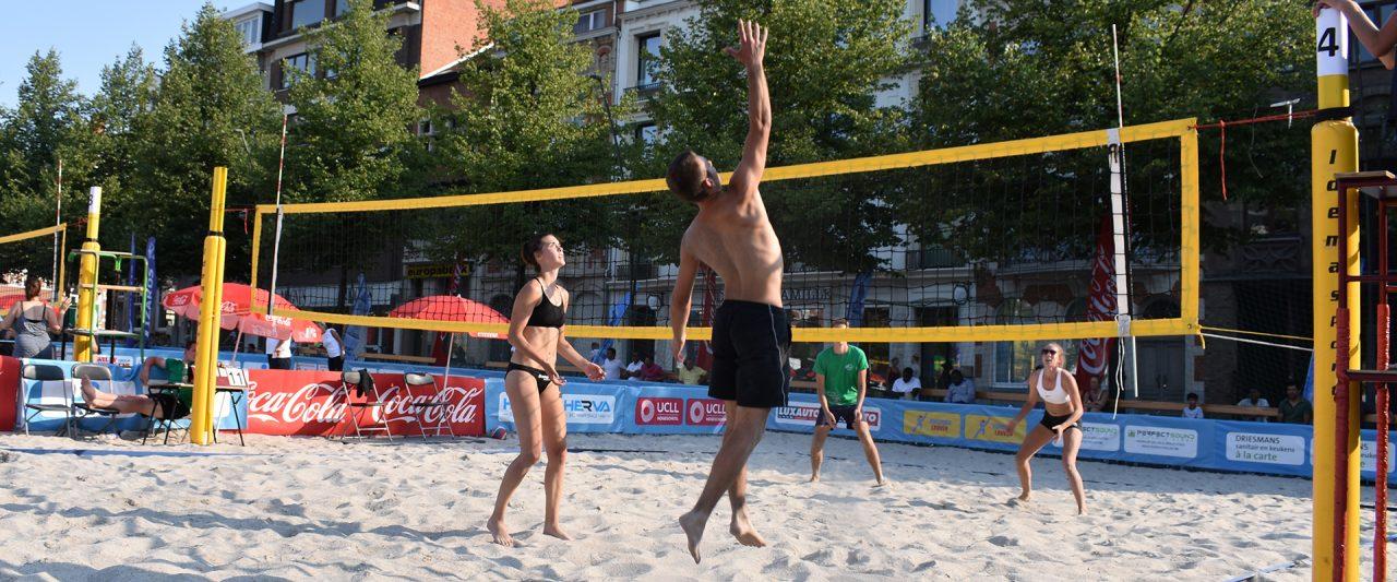 Provinciaal toernooi Leuven Beachvolley 2018