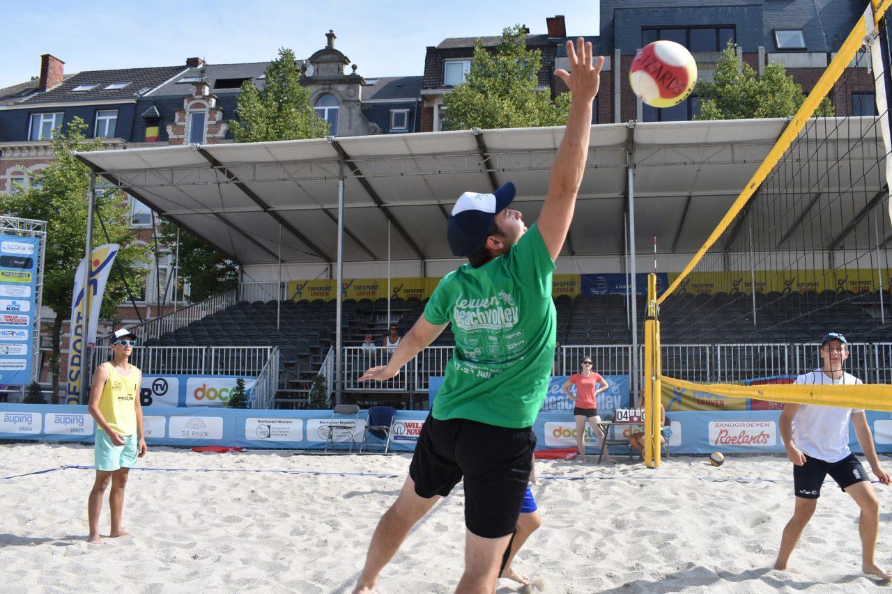 Recreatietoernooi Leuven Beachvolley 2018